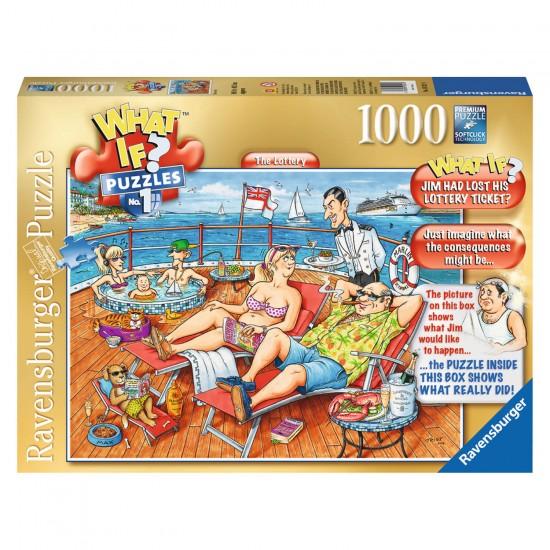 Puzzle 1000 pièces : What if ? : La loterie - Ravensburger-19321