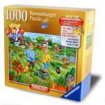 Puzzle 1000 pièces : What if ? : Menace sur le jardin