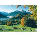Puzzle 1000 pièces - Berchtesgaden face au Watzmann