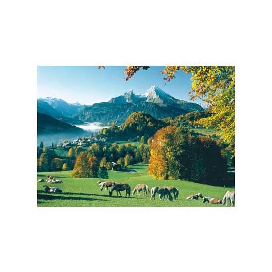 Puzzle 1000 pièces - Berchtesgaden face au Watzmann - Ravensburger-15741