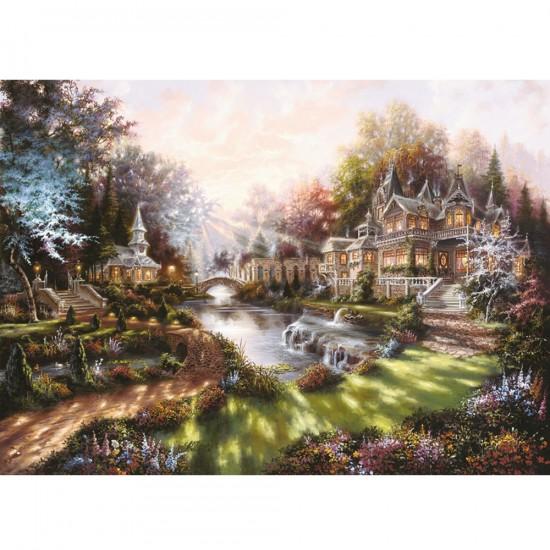 Puzzle 1000 pièces - Eclat du matin - Ravensburger-15944