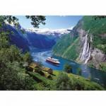 Puzzle 1000 pièces - Fjord norvégien