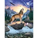 Puzzle 1000 pièces - Hurlements de loup