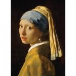 Puzzle 1000 pièces - Jan Vermeer : La jeune fille à la perle