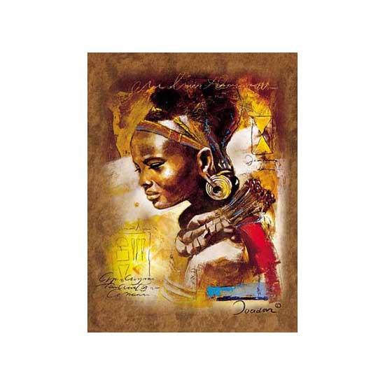Puzzle 1000 pièces - Jeune femme africaine - Ravensburger-15352-2007