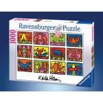 Puzzle 1000 pièces - Keith Haring : Rétrospective