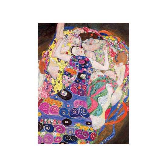 Puzzle 1000 pièces - Klimt : Jeunes femmes - Ravensburger-15587