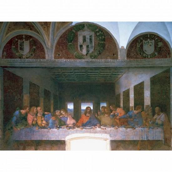 Puzzle 1000 pièces - Léonard de Vinci : La Cène - Ravensburger-15776-A