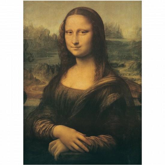Puzzle 1000 pièces - Léonard de Vinci : La Joconde - Ravensburger-15296