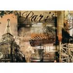 Puzzle 1000 pièces - Mémoires de Paris