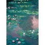 Puzzle 1000 pièces - Monet : Les nénuphars