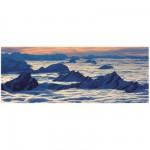 Puzzle 1000 pièces panoramique : Vue de Santis