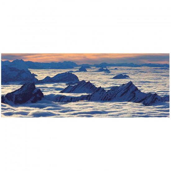 Puzzle 1000 pièces panoramique : Vue de Santis - Ravensburger-19103
