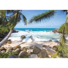 Puzzle 1000 pièces - Plages des Seychelles