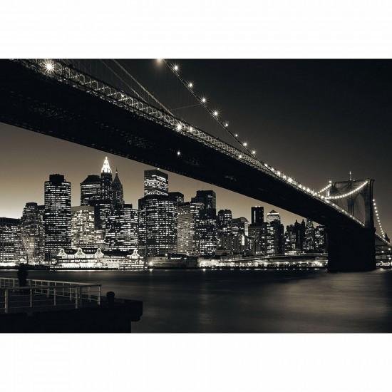 Puzzle 1000 pièces - Pont de Brooklyn, Manhattan - Ravensburger-15835