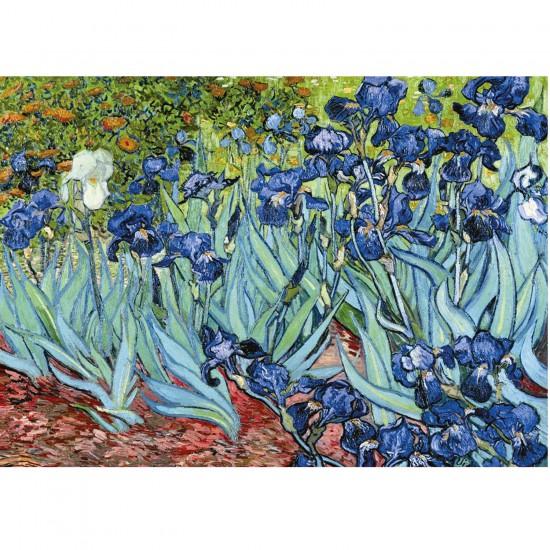 Puzzle 1000 pièces - Van Gogh : Les Iris - Ravensburger-15613