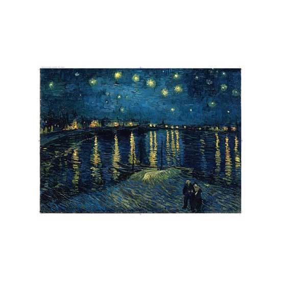 Puzzle 1000 pièces - Van Gogh : Nuit étoilée - Ravensburger-15614