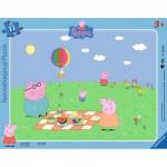 Puzzle 11 pièces : Cochon Peppa