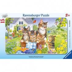 Puzzle 15 pièces - Photo de famille