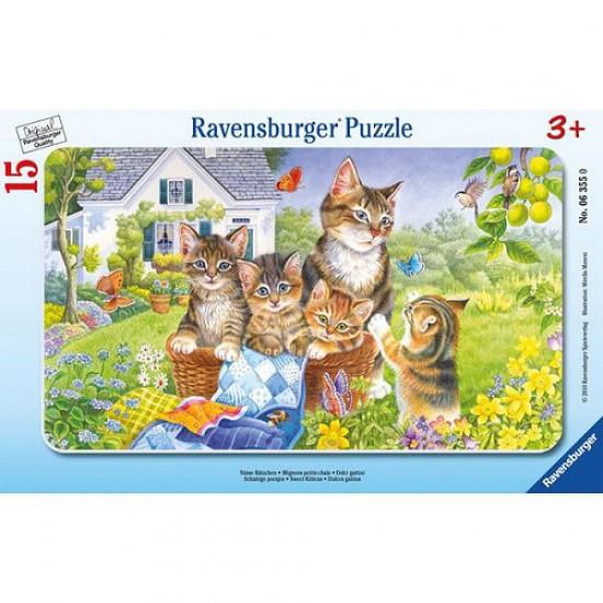 Puzzle 15 pièces - Photo de famille - Ravensburger-06355
