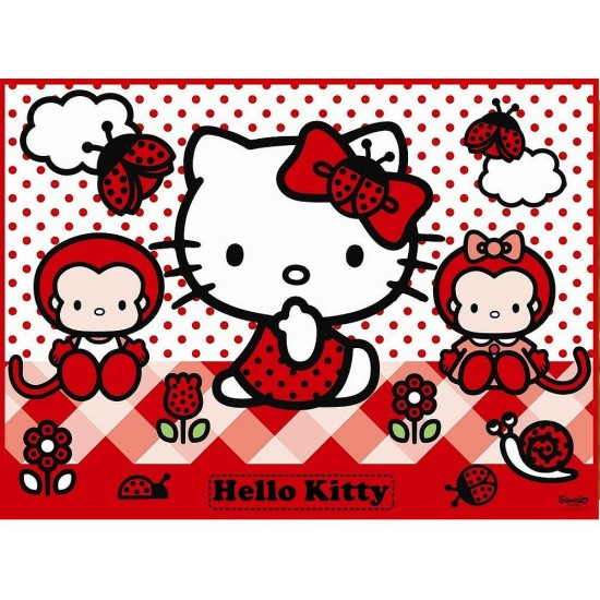 Puzzle 150 pièces XXL : Hello Kitty - Ravensburger-10011
