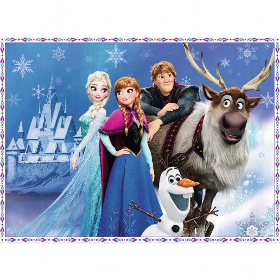 Puzzle 150 pi ces xxl la reine des neiges frozen les - Regarder la reine des neige ...