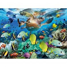 Puzzle 150 pièces XXL : Le paradis sous l'eau