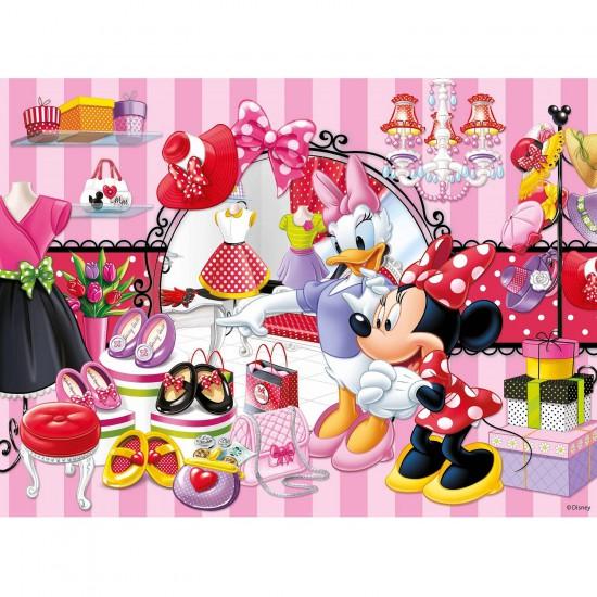 Puzzle 150 pièces XXL : Minnie fait son shopping - Ravensburger-10005