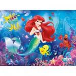 Puzzle 150 pièces XXL : Princesses Disney : Tout le monde aime Ariel