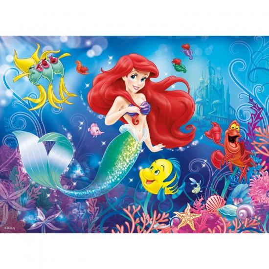 Puzzle 150 pièces XXL : Princesses Disney : Tout le monde aime Ariel - Ravensburger-10003