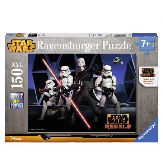 Puzzle 150 pièces XXL : Star Wars Rebels les rebelles - Ravensburger-10017