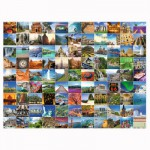 Puzzle 1500 pièces : 99 plus beaux endroits du monde