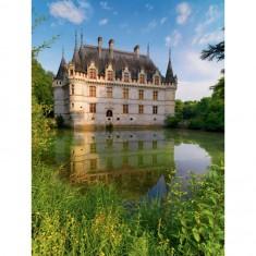 Puzzle 1500 pièces : Château d'Azay le Rideau