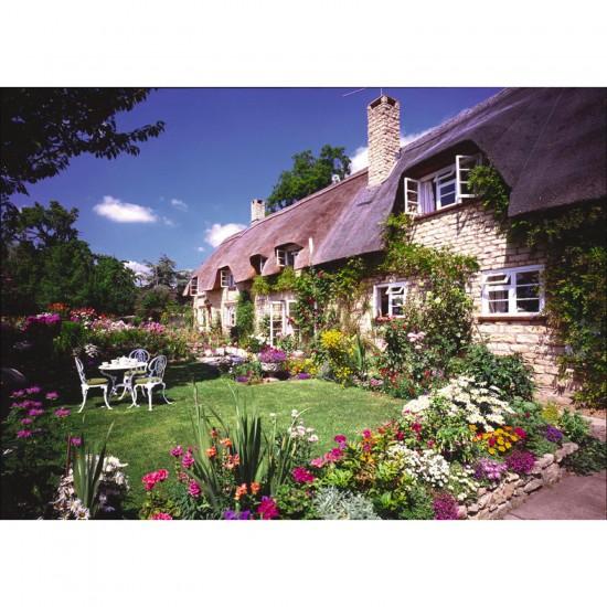 Puzzle 1500 pièces : Cottage à Bredon Hill, Worcs - Ravensburger-16352