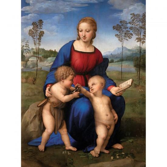 Puzzle 1500 pièces : La Vierge au chardonneret - Ravensburger-16249