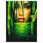 Puzzle 1500 pièces : Larmes vertes