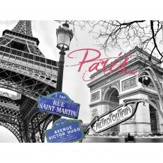 Puzzle 1500 pièces : My Paris