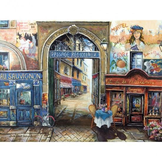 Puzzle 1500 pièces : Passage à Paris - Ravensburger-16241