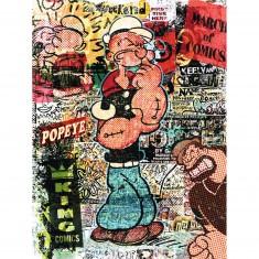 Puzzle 1500 pièces : Tribute Art : Popeye