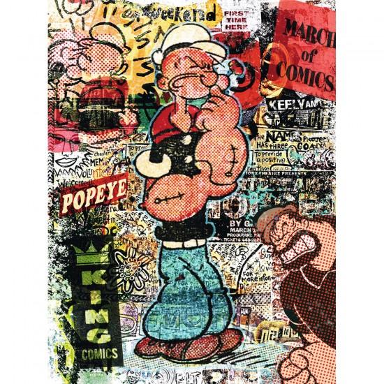 Puzzle 1500 pièces : Tribute Art : Popeye - Ravensburger-16327