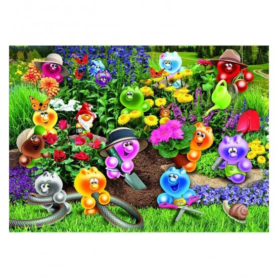 Puzzle 1500 pièces Gelini : Le jardinage - Ravensburger-16260