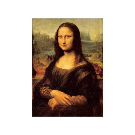 Puzzle 1500 pièces - Léonard de Vinci : La Joconde - Ravensburger-16225-16254