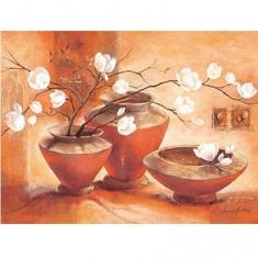 Puzzle 1500 pièces - Magnolia Blanc