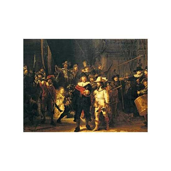 Puzzle 1500 pièces - Rembrandt : La ronde de nuit - Ravensburger-16205
