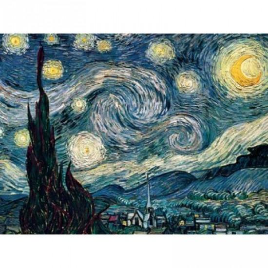 Puzzle 1500 pièces - Van Gogh : La nuit étoilée - Ravensburger-16207
