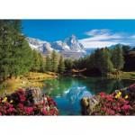 Puzzle 1500 pièces - Vue sur le Mont Cervin