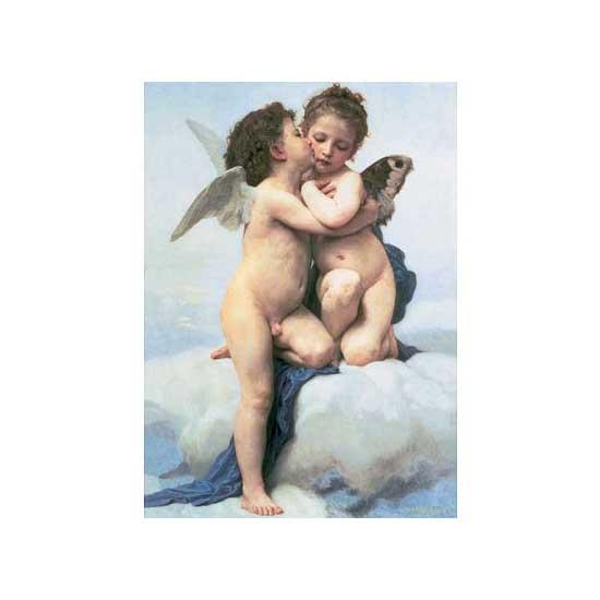 Puzzle 1500 pièces - William Bouguereau : Les anges - Ravensburger-16228