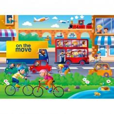 Puzzle 16 pièces : On se bouge