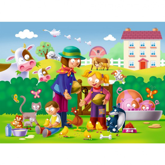 Puzzle 16 pièces : Telle mère telle fille - Ravensburger-07081