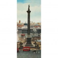 Puzzle 170 pièces panoramique : Londres Vintage